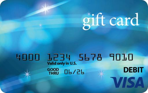 Activate a Visa gift Card Online
