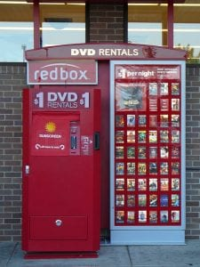 lost a Redbox movie kiosk