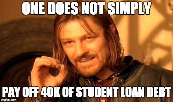 debt meme mordor