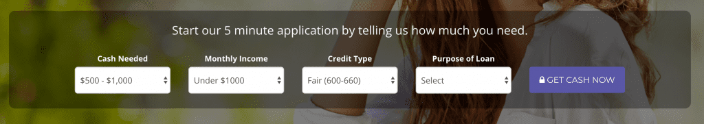 zippy loan application