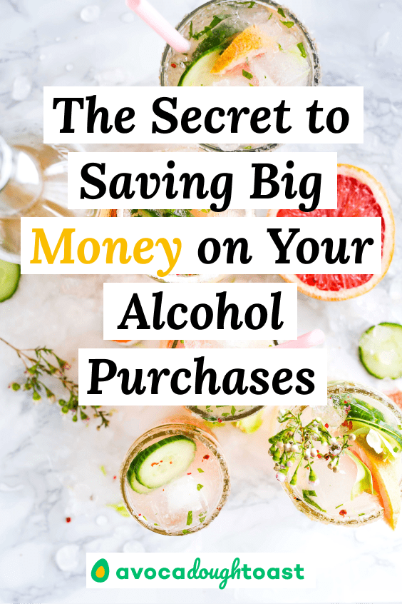 save money on alcohol purchases