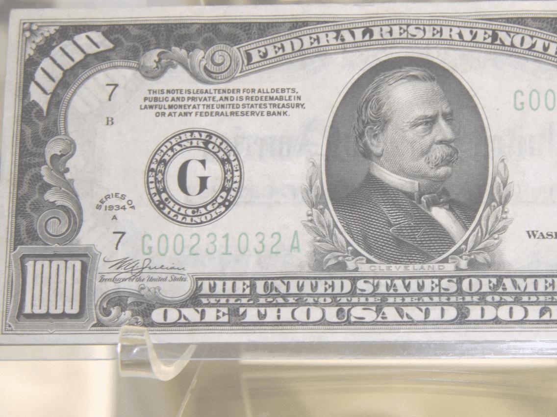 united states one dollar bill - HD1136×852