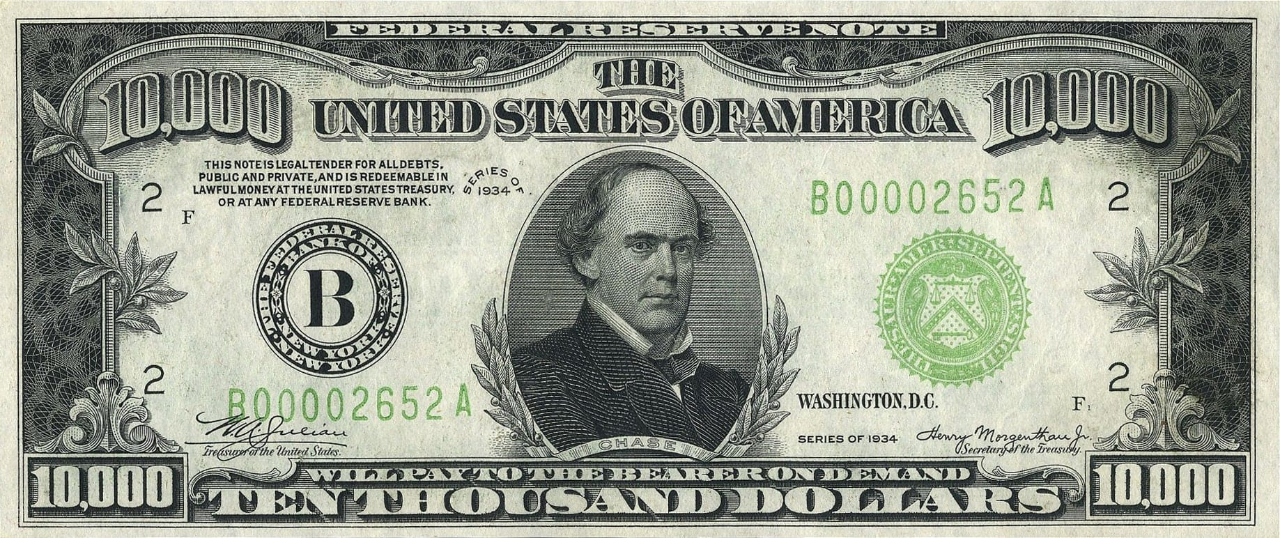 The $10,000 Dollar Bill: Everything You Need To Know (With