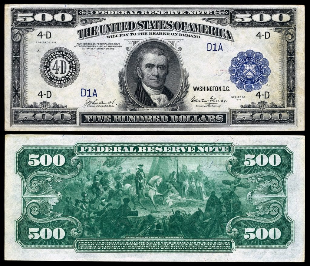 The All the Info on the $500 Bill (Yes, It's Real) (With