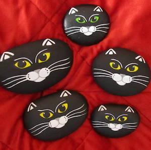 black cat rocks