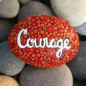 courage rock