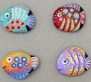 fish rocks