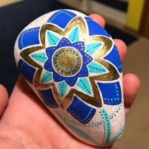 Flower Pattern Rock