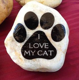 i love my cat rock
