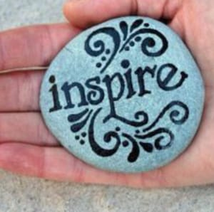 painted rock inspire