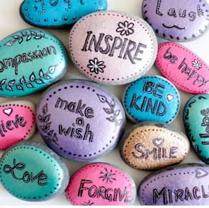 kindness painted rocks