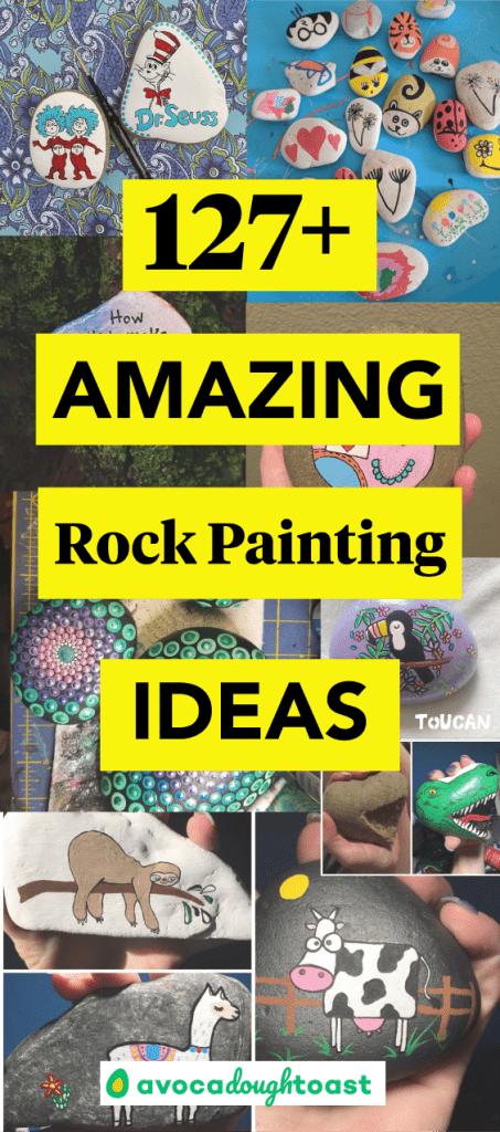 painted rocks pin