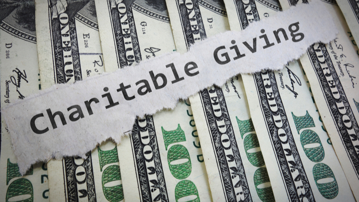 Charitable donations are also tax deductibles