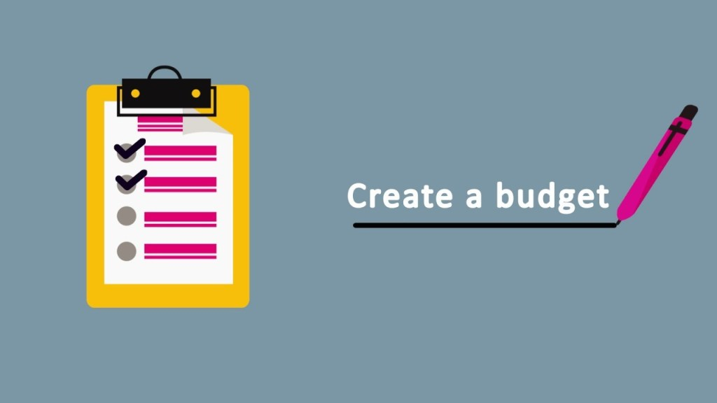 Create An Annual Budget