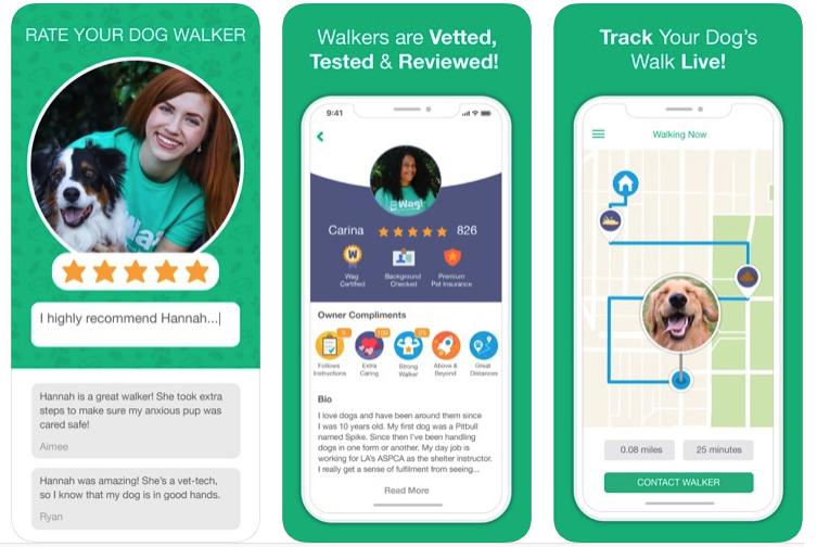 Wag Walker App
