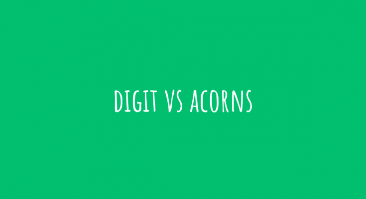 digit vs acorns