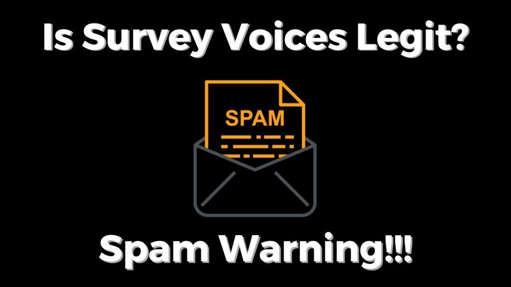 Is Survey Voices Legit Or A Scam