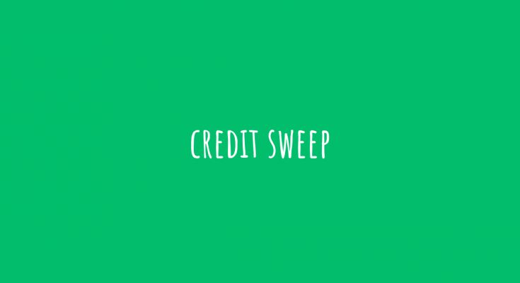 credit sweep