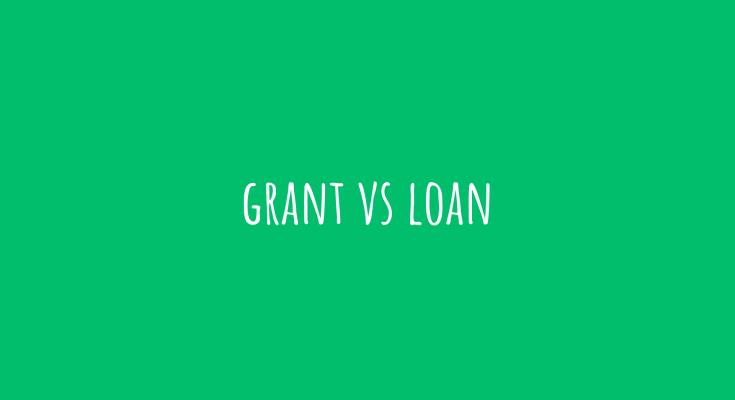 grant vs loan