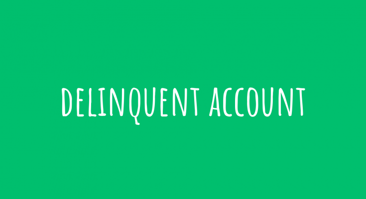 delinquent account