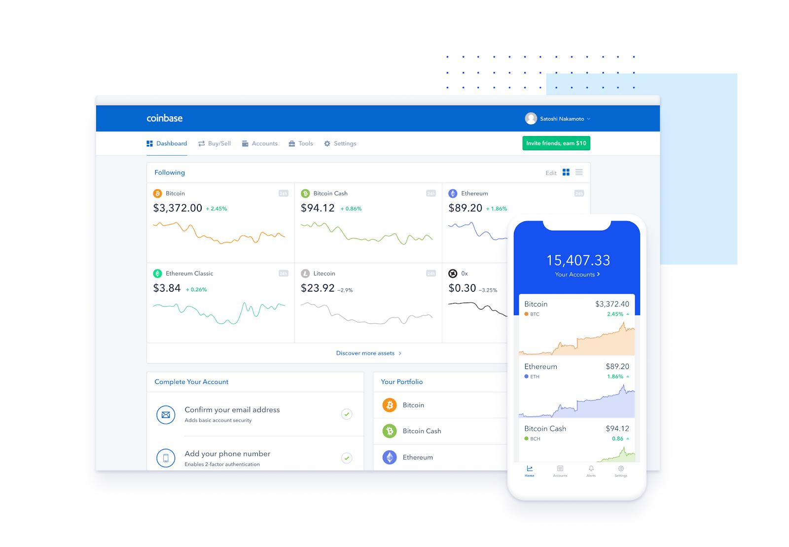 Coinbase Unique Features